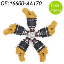 New 5pcs 550cc Side Feed Fuel Injector For Subaru Sti WRX GC8 2.5L Engine 16600-AA170 FJ942 SF-61-550CC,16600AA170