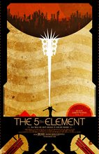 Pop The Fifth Element Propaganda Poster Classic Retro Vintage Kraft Decorative DIY Wall Sticker Home Bar Posters Decoration Gift