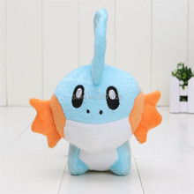 "6.7"" 17cm Mudkip Plush Toys Cute Mudkip Stuffed Toy Doll For Kids Birthday Christmas Gift"