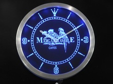 nc0107 Jimmy Buffett Margaritaville Bar Pub Club Beer Neon Sign LED Wall Clock Wholesale Dropshipping