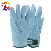 OLSON DEEPAK Cow Split Leather Factory Driving Gardening Handling Industry Work Gloves 146 Free Shipping(China)