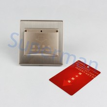 wall switch access control the switches 25A Hotel Energy Saving card switch(China)