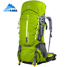 New Arrive 60L Outdoor Travel Hiking Climbing Backpack Thick 3D Shoulder Waist Strap Rucksack Mochila Camping Sport Tactical Bag