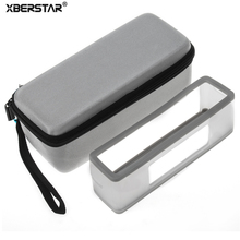 EVA Semi-hard Carry Case +Soft cover skin for Bose Soundlink Mini/Mini 2 Wireless Bluetooth Speaker