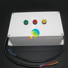 High quality cheap price red green yellow mini led traffic light controller(China)