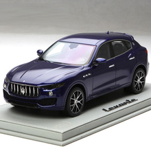* Blue BBR Resin Model Car for 1:18 Maserati Levante Luxury SUV Resin Toys Gifts Collection Minicar