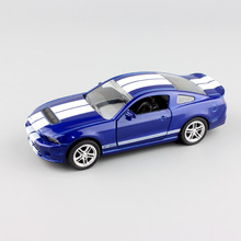 kid's 1:32 Scale brand small Ford Shelby GT500 mustang diecasting race sport car replica pull back model cheap toy gift for boy