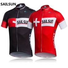 Bike Jersey Cheap Jerseys Sport Cycling Jersey Men's Team Jersey Men's Shirts Top Black Red 2colors Best Quality