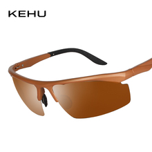 KEHU New Polaroid Sunglasses Men Polarized Driving Sun Glasses Mens Sunglasses Brand Designer Fashion Oculos De Sol K9240