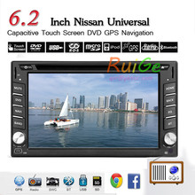 6.2'' HD Pure Android 5.1 Double 2 Din In Dash Car DVD CD Player GPS Navigation Car Stereo AM/FM/RDS Radio Bluetooth Wifi