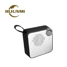 HIJUNMI portable speaker bluetooth waterproof aux receptor hansfree call with mic sound bar wireless vibrating speakers