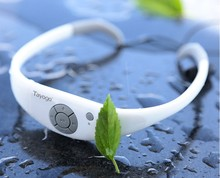 Tayogo Bluetooth IP68 Waterproof 100% music MP3 Player Headphone with FM Pedometer Underwater IPX8 MP3 Player for Swimming Sport