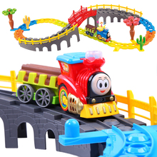 Large Thomas And Friends Diecasts & Toy Vehicles Toys Electric Flashing Trains Blocks Model Track Set Trackmaster Miniature