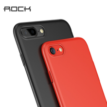 Rock Slim Phone Cases For iPhone 7 7 Plus Case for iphone 6 6s 6Plus 6S Pl Hard PC Case Back Protective Case Phone Cover Shell(China)