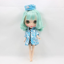 Free shipping Nude Blyth Doll Series No.130BL4006 Mint  short hair with bangs Factory Blyth
