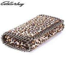 Buy New Serpentine Leopard Crossbody Bag Stella PVC Leather Purse Chain Small Handbags Phone Clutch Black Woman Bag for $22.50 in AliExpress store