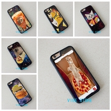 Pizza Taco Cat Funny Kitty fashion cell phone case cover for iphone 4 4S 5C 5 5S SE 6 6S 6 plus 6s plus 7 7 Plus #EC60