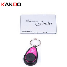 F810 name card shape finder w/ 1 receiver,Long working range remote searching alarm Electronic Key finder anti lost alarm