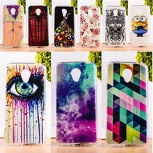 DIY Painted Soft TPU & Hard Plastic Phone Case For Meizu M2 Mini Meilan 2 Cell Phone Cover Anti-Knock Function Phone Bags