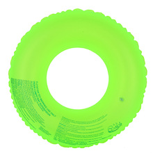 high quality Safety Pure Color Fluorescent Swimming rings summer sweet pool toys children adult 4 size life water buoy AOTU0002