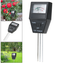 2 in 1 PH Meter Soil Moisture Meter PH Tester Level Meter for Plants Crops Flowers Vegetable 3 ph Probes(China)