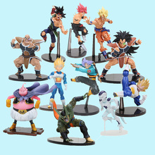 15-20cm SCultures Dragon Ball Z action figures Super Saiyan son goku dragonball vegeta trunks figure DBZ doll Model Toy(China)