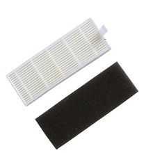 Vacuum Cleaner accessories Parts 1pc Main Brush+4pcs dust HEPA Filter+4pcs Side Brush ILIFE A4s Robot