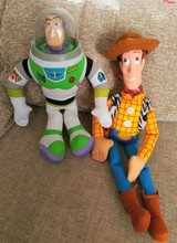 Toy Story Woody/Buzz Light Year Figure/Hot Special Toys For Children/Christmas /New Year Gift(China)