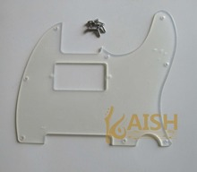 Transparent TL Humbucker Guitar Pickguard Clear Scratch Plate(China)