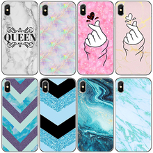 Buy GTWIN Soft Phone Case iphone 5 5S 6 6S Plus Marble Art Pattern Back Cover iphone 7 8 Plus X Funda Capa Silicone Shell for $0.83 in AliExpress store