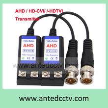 100pcs/Lot CCTV Video balun AHD, HD-TVI, HD-CVI, Single channel CCTV UTP Balun HD Transmitter Cat5 Twisted Pair