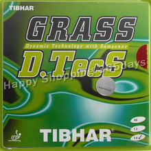 Tibhar GRASS D.TecS long pips-out table tennis / pingpong rubber with sponge