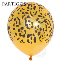3.2g 12inch leopard printed Latex Balloons animal Balloons Air Balloon Wedding Party Decoration Supplies party supppliers decora