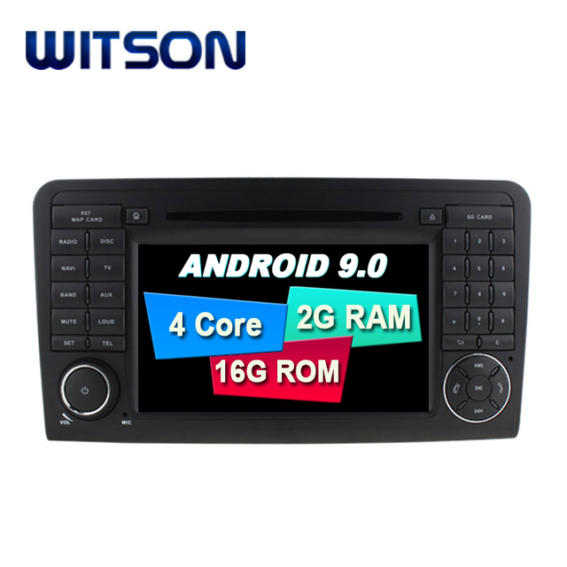 WITSON Android 9.0 CAR DVD PLAYER GPS for MERCEDES-BENZ ML-W164/GL-X/W300/ML350/ML450 audio system with gps car audio gps dvd