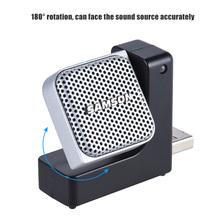 Go Mic Direct Super Mini Condenser Recording USB Microphone Plug-and-Play with Carrying Case for Mac Laptop