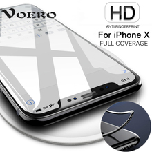 Buy VOERO 3D Round Curved Edge Tempered Glass iPhone X 6 7 Plus Full Cover 9H Screen Protector Film iPhone 6s 7 8 Plus Glass for $1.47 in AliExpress store