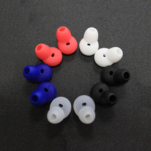 1 Pair Silicone Earphones Earbuds Ear Tips Gel Earpad Ear Pads Eartips Cover Protector Replacement For Samsung Gear Circle R130(China)