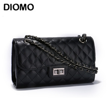 DIOMO classic crossbody bag for women quilted diamond lattice women messenger bag female chain bags(China)