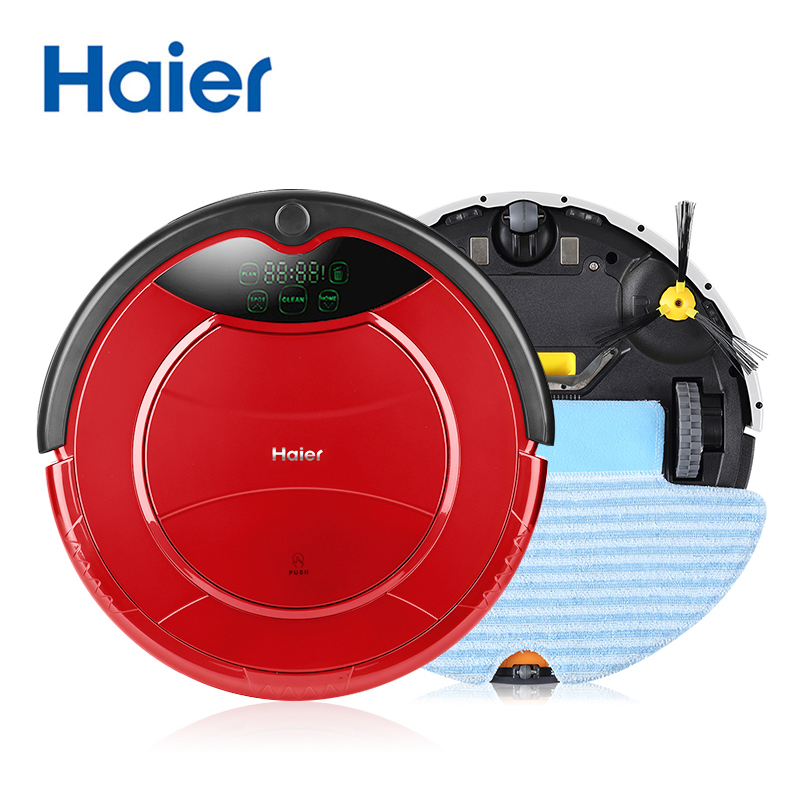 Haier Pathfinder Smart Robot Vacuum Cleaner For Home,Sensor,Wet and Dry Mode,Self Charge,Microfiber Dust Sweeping Machine(China (Mainland))