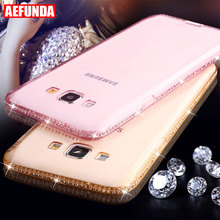 Buy Luxury Bling Diamond Clear TPU Phone Case Samsung Galaxy S7 S6 Edge S8 S9 Plus J5 J7 J3 A3 A5 A7 2016 2017 Grand Prime Cover for $1.39 in AliExpress store