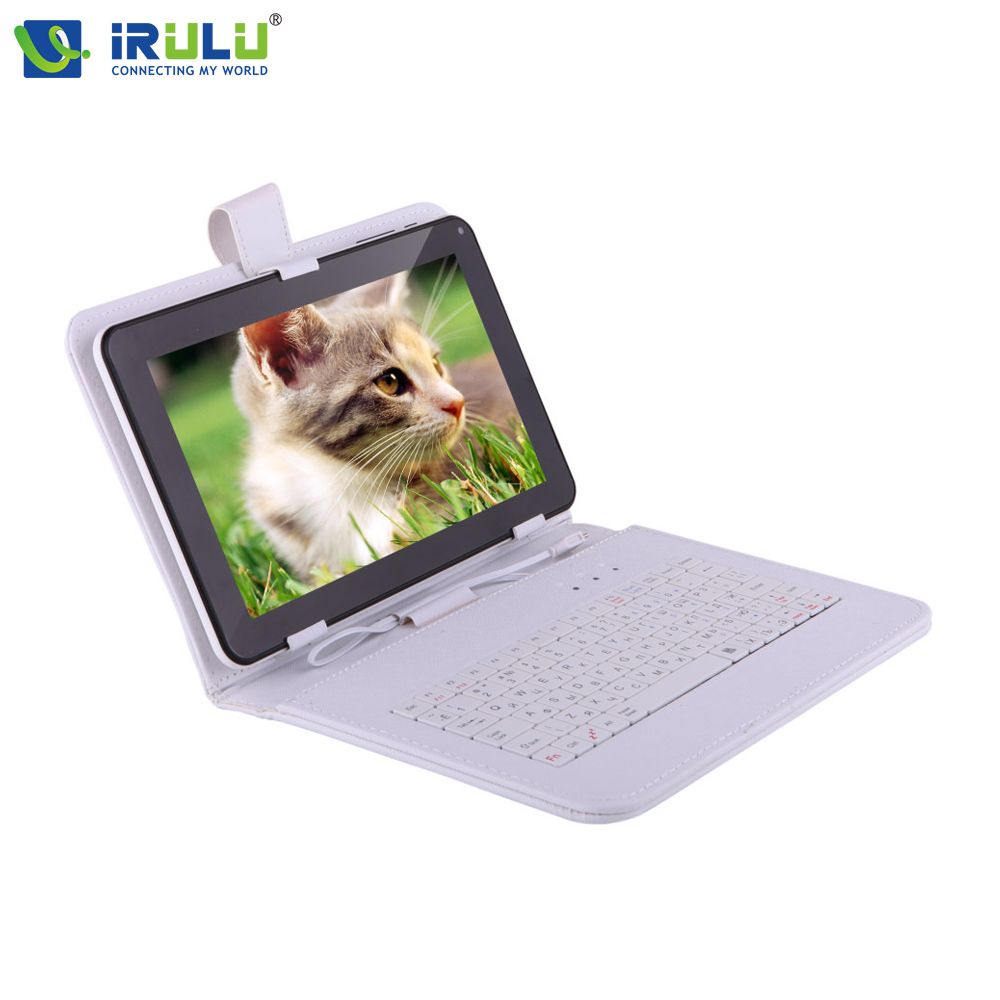 Original iRULU 9'' Russian Keyboard Leather Case For Using Russia Language People Micro USB Cover For 9 Inch Tablet PC Hot Sale(China (Mainland))