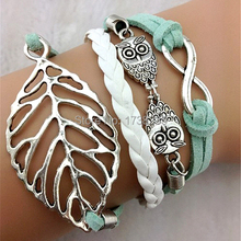 2016 New Fashion Leather BraceletsMale Female Bracelets & Charm Bangles Silicone Rubber Bracelet For Women And Men
