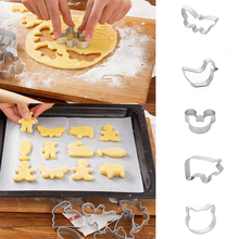 Cute Rabbit Shaped Aluminium Mold Biscuit Cookie Cake Pastry Baking Cutter Mold Tool baking bakeware mold cupcake