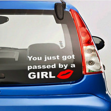 Reflective Tape The New You Just Got Passed By Trade A Girl Car Stickers Car Accessories Golf 7 Car Styling