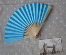 200 PCS/LOT Wedding Paper Fan,Bride Hand Fan with bamboo ribs,Craft Fan wedding bridal shower favor party gift 15 color