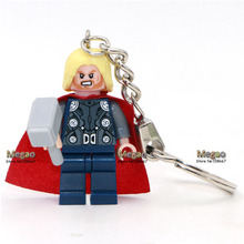 Single Sale 2016 Hot Movie DC Batman VS Superman Dawn of Justice Super Hero Gifts Keychain Custom Ring DIY Handmade Gift
