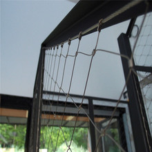 home decor ferruled x-tend inox wire rope mesh stairs railing system