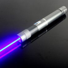 JSHFEI Guaranteed100% 450nm 1W / 1000mW Focus Adjustable Blue Laser Pointer Burning Match  green laser pen