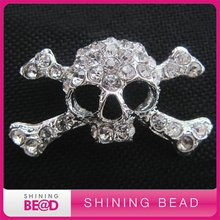 Free shipping+high quality+25*45mm+Fashion punk rock style brooches for clothes(China)