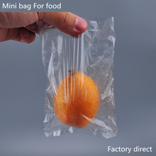 100pcs Multi-size Kitchen Fresh Bags Plastic Food Storage Bag HDPE Transparent Bags Safety Keep Fresh Grain Bag Free Shipping